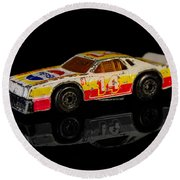 Chevy Stock Car Round Beach Towel