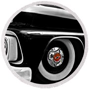 Chevy Truckin Round Beach Towel
