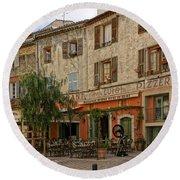 Chez Luigi St Remey France Dsc02408  Round Beach Towel