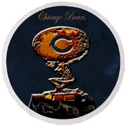 Chicago Bears Round Beach Towel