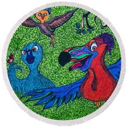 Chicks Round Beach Towel
