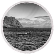 Chinaman's Hat Island From A Different Angle Round Beach Towel