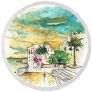 Chipiona Spain 04 Round Beach Towel