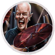 Chris Slade Round Beach Towel