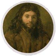 Christ, C.1656 Round Beach Towel