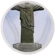 Christ The Redeemer Rio Round Beach Towel