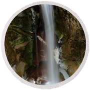 Christine Falls Round Beach Towel