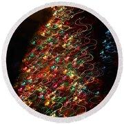 Christmas Tree 2014 Round Beach Towel