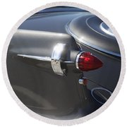 Chrysler Imperial Taillight Round Beach Towel