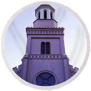 Church Round Beach Towel