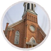 Church In Sprague Washington 3 Round Beach Towel