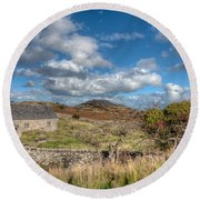 Church View Round Beach Towel