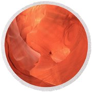 Circle In The Sandstone Round Beach Towel