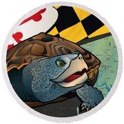 Citizen Terrapin Maryland's Turtle Round Beach Towel
