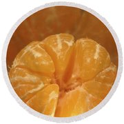 Citrus Bowl  Round Beach Towel