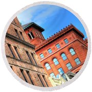 City Architecture Kcmo Round Beach Towel