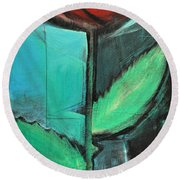 City Rose - Few Noticed Round Beach Towel