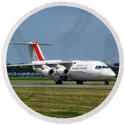 Cityjet British Aerospace Avro Rj85 Round Beach Towel