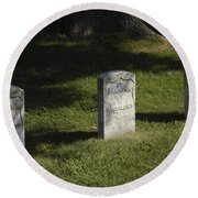 Civil War Unknown Dead Round Beach Towel