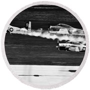 Classic Airpower Round Beach Towel