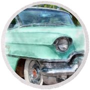 Classic Caddy Round Beach Towel