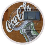 Classic Coca-cola Round Beach Towel