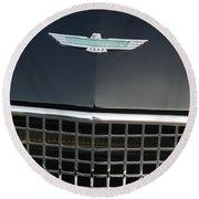 Classic Ford Thunderbird Round Beach Towel