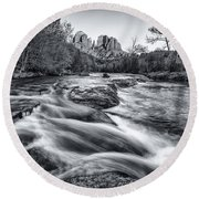Classic Sedona Round Beach Towel by Darren  White