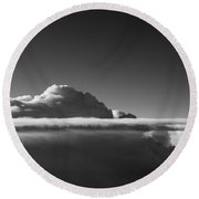 Clear Above Round Beach Towel