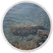 Clear Sea Round Beach Towel