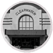 Clearwater Round Beach Towel