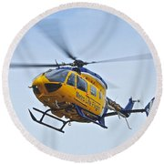 Cleveland Metro Life Flight Round Beach Towel