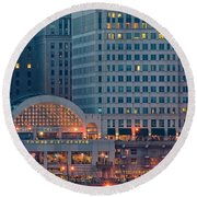 Clevelands Tower City Round Beach Towel