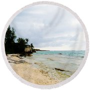 Cliff House 2 Round Beach Towel