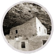 Cliff Palace Room Round Beach Towel