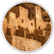 Cliff Palace Townhomes Round Beach Towel