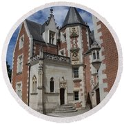 Clos Luce - Amboise - France Round Beach Towel