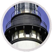 Close To The Top Round Beach Towel