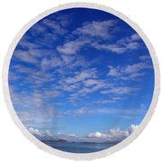 Cloud N Sky 3 Round Beach Towel