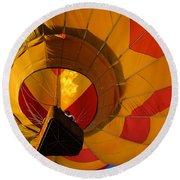 Clovis Hot Air Balloon Fest 3 Round Beach Towel