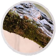 Club Of Moss Abstract Round Beach Towel