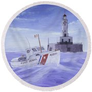 Coast Guard 40300 Round Beach Towel