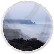 Coastal Atmosphere Round Beach Towel