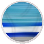 Coastal Horizon 2 Round Beach Towel