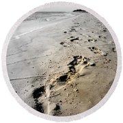 Coastal Walks Round Beach Towel