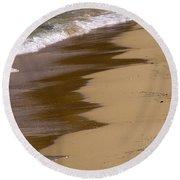 Coastline Round Beach Towel