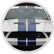 Cobra Mustang Round Beach Towel