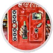 Coca-cola Retro Style Round Beach Towel
