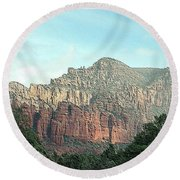 Coconino National Forest Round Beach Towel