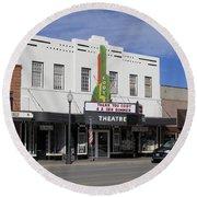 Cody Wyoming Theater Round Beach Towel